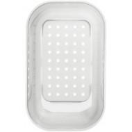 Коландер из белого пластика (214442)