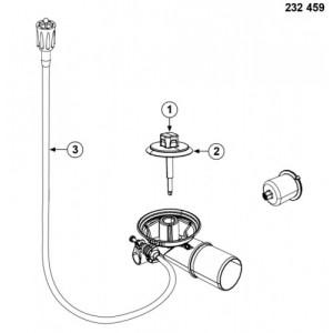 Набор доукомплектации клапаном-автоматом Blanco InFino®