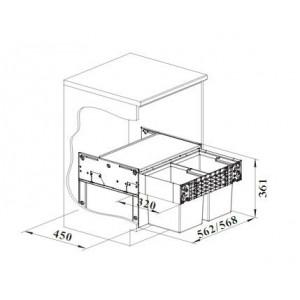 Blanco Select II Compact 60/2