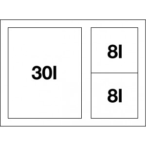Blanco Select 60/3 XL