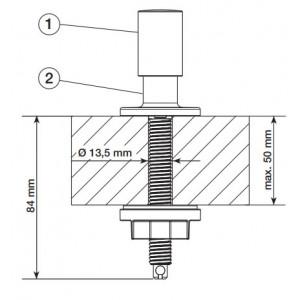 Круглая ручка управления клапаном-автоматом (222118)