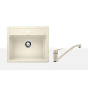 Комплект мойка Blanco Legra 6 + смеситель Blanco Daras (гранит)
