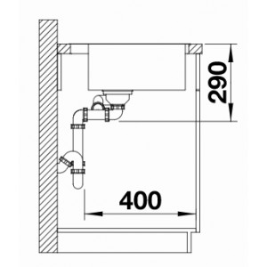 Blanco Andano 340/180-IF/A Infino Push Control