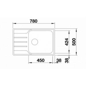 Blanco Lemis XL 6S-IF Compact