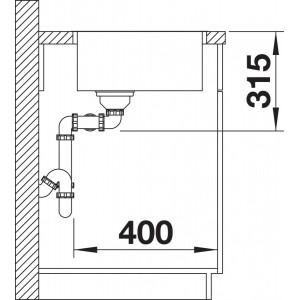 Blanco Andano 400/400-IF
