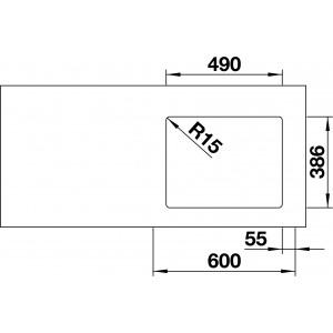 Blanco Etagon 500-U Ceramic PuraPlus