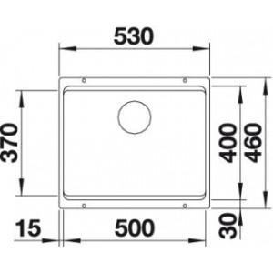 Blanco Etagon 500-U Silgranit PuraDur