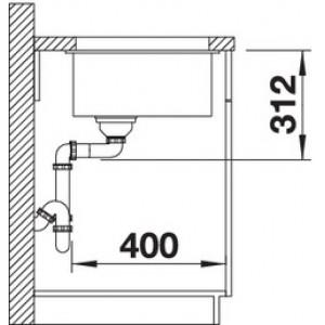 Blanco Subline 700-U (алюметаллик)