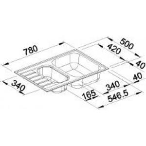 Blanco Livit 6S Compact