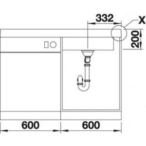 Blanco Modex-M 60 (жасмин)