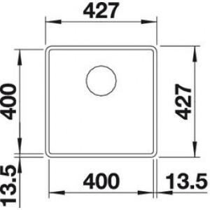 Blanco Subline 400-F (антрацит)