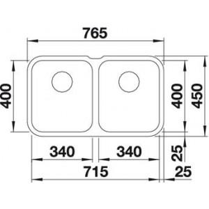 Blanco Supra 340/340-U