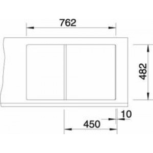 Blanco Tipo 45S Compact