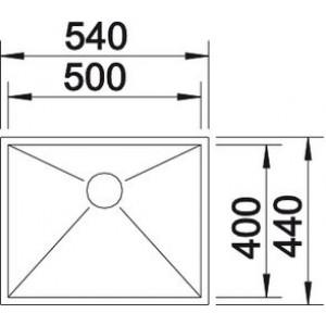 Blanco Zerox 500-IF Durinox