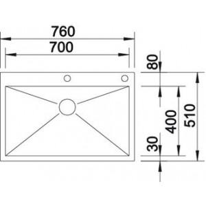 Blanco Zerox 700-IF/A