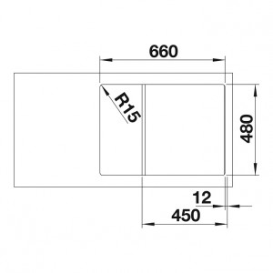 Blanco Zia 45S Compact