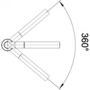Blanco Periscope S-F II (хром)